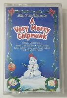 Alvin & the Chipmunks A Very Merry Chipmunk Cassette Tape 1994 Epic