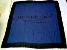 BURBERRY SCHAL TUCH SCARF Carré платок WOLLE KASCHMIR SEIDE 140x140 UVP 379€ NEU