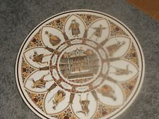 10 inch collectible plate with theme Wedgewood England Shakespeare Characters