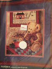 Sunset Old Teddies Cross Stitch Kit 10x12 Inches (25x30 cm)