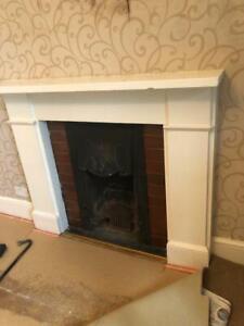Victorian slate Fireplace surround