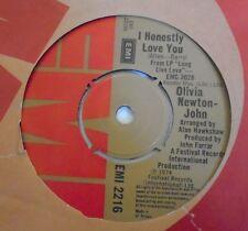 """OLIVIA NEWTON JOHN ~ I Honestly Love You ~ 7"""" Single"""