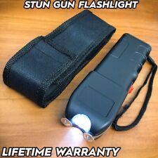 Tactical Military 999mv Stun Gun Rechargeable Flashlight Self Defense Heavy Duty