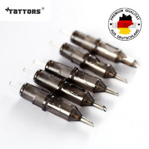 Premium Disposable Tattoo Needle Cartridges Sterilized Round Liners Shaders 20St