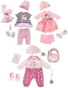 Baby Annabell Deluxe 43cm Doll Clothing Outfits with Accessories