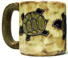Mara Stoneware Mug - Desert Turtle  (One Mug) 16 oz - Round Bottom(510P1)