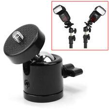"Mini Stativkopf Stativ Kugel Kugelkopf 1/4"" Gewinde Kamera 360 Grad Camcorder"