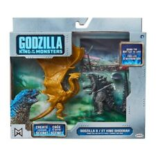 Godzilla & King Ghidorah Action Figures Toys Jakks 9cm Play Set NEW In STOCK