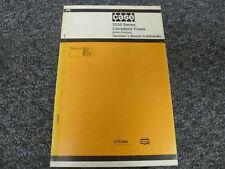 Case Drott 3330 Series Carrydeck Crane Owner Operator Maintenance Manual