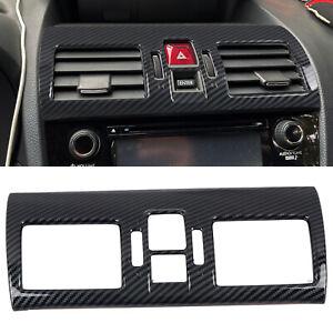 for Subaru WRX STI 2015-2019 Carbon Fiber Interior Middle Console Air Vent Cover