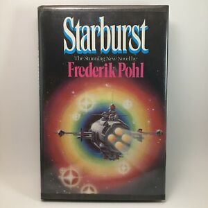 Starburst Frederik Pohl Rare Book Club Edition Hardback Rare Sci Fi Vintage 1982