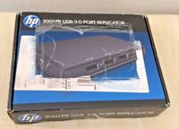 HP 3001 PR USB 3.0 PORT REPLICATOR F3S42AA#ABB