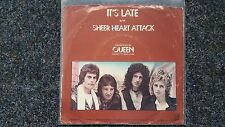 Queen (Freddie Mercury) - It's late US 7'' Single Butterfly Label WITH COVER