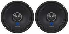 "(2) Rockville RXM68 6.5"" 300w 8 Ohm Mid-Range Drivers Car Speakers, Mid-Bass"