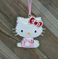 Hello Kitty Christmas Ornament : Enamel w/ Crystal Rhinestones : Sanrio