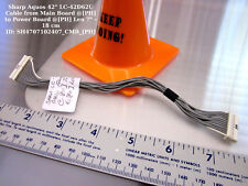 "Sharp Aquos 42"" LC-42D62U Cable from Main Board @[PH] to Power Board @[PH] Len 7"