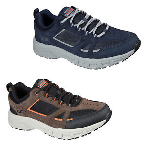 Skechers Hiking Mens Trainers Relaxed Fit Leather Walking Comfort Shoes Sneakers