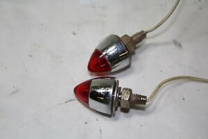 red marker lights turn signals FXR FXRT FXRP Softail FL Dyna XL FXD EPS20637