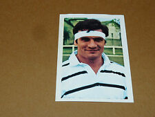 N°61 PIERRE BESSON CA BRIVE RECUPERATION AGEDUCATIFS RUGBY 1971-1972 PANINI