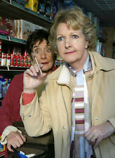 Penelope Keith & June Brown 10 x 8 UNSIGNED photo - P1169 - Margery and Gladys