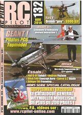 "RC PILOT N°132 DRONE ""PRO"" S900 DJI / PILATUS PC6 TOPMODEL / FIAT G-91 SEBART"