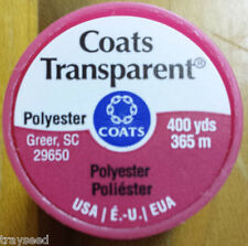 Coats & Clark s 995 Transparent Polyester Thread