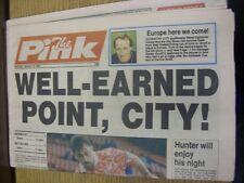 16/01/1993 COVENTRY evening Telegraph il rosa: principali titolo recita: meritata