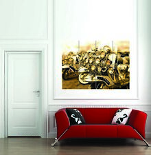 VESPA MOTO GIANT POSTER WALL ART
