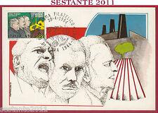 ITALIA MAXIMUM MAXI CARD ROMA 504 PATTO DI VITTORIO BUOZZI GRANDI 1984 FIL. B744