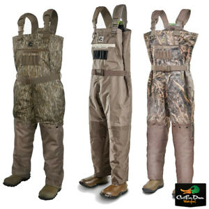GATOR WADERS - MENS SHIELD UNINSULATED BREATHABLE CHEST WADERS CAMO DUCK HUNTING