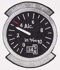 Aufnäher Patch JaBoG 38 Leber am Limit Jagdbombergeschwader 38 .........A5037