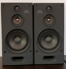 Sony Bookshelf 3-Way, SS-2700E Speakers system, 80 Watt RMS, Made In Japan.