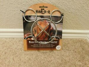 New Mr. Bar-b-q Beer Can Chicken Roaster