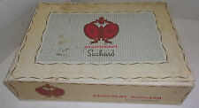 ANCIENNE BOITE CARTONNEE CONFISERIE SUCHARD / CHOCOLAT 3KG RESIDENCE