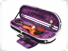 4/4 Violin+Half Moon Case+Bow+Rosin+Free String set-BPL