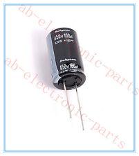 1x 100uf 450v Rubycon Electrolytic Capacitor 450v100uf ( Upgrade 400v100uf )