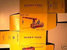 REPLIQUE  BOITE GRUE SALEV 1959 DINKY TOYS
