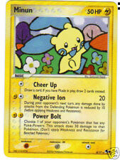 POKEMON PROMO CARD - POP SERIES 3 #4/17 MINUM (HOLO)