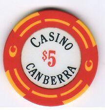 $5 Casino Canberra - Casino Chip