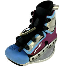 New listing Hyperlite Spin Vargas Mini Wakeboard Bindings Boots Sz S Fits Shoe Sizes 4-7.5