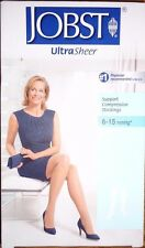 Jobst UltraSheer Compression Stockings 8-15 mmHg 119233, Size 7-9, New in Box