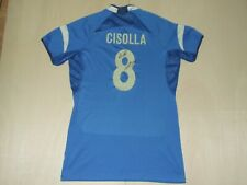 Shirt Volleyball Volleyball Sport Italy Italy Cisolla 8 Signed Size XXL