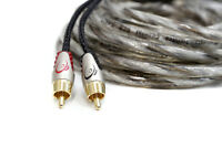 KnuKonceptz Karma v3 Twisted Coaxial 2 Channel OFC RCA Cable 3 Feet 1M