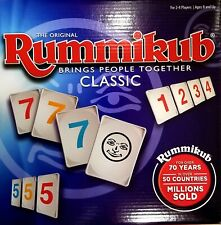 The Original Pressman Rummikub Fast Moving Rummy Tile Game 2-4 Players/8+up NEW