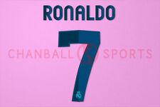 C.Ronaldo #7 2012-2013 Real Madrid Homekit Nameset Printing