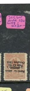 HONDURAS  (P2407B)   A/M   SC C 60 DOUBLE   OVPT , ONE INVERTED     MOG