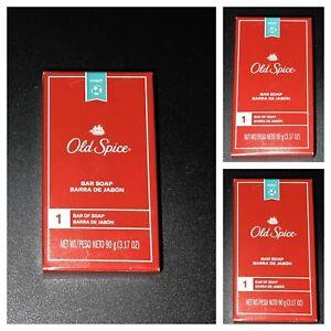 Old Spice Bar Soap for Men, Sport Scent, 3.17 oz, 3 Pack