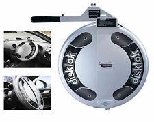 Disklok Silver Medium Anti Theft THATCHAM 3 Steering Wheel Lock 39cm - 41.5cm