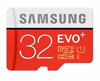 SAMSUNG EVO Plus 32GB-128GB MicroSD Memory Card w/ Adapter for Sony Xperia XZ3