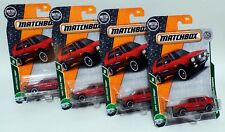 '90 VOLKSWAGEN GOLF COUNTRY * LOT OF 4 * 2018 MATCHBOX * RED VW 1990 HATCHBACK